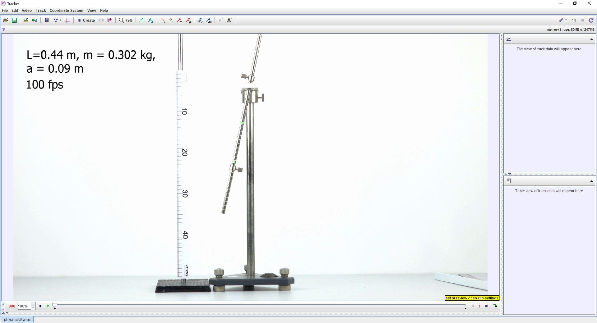Дослідження коливань фізичного маятника